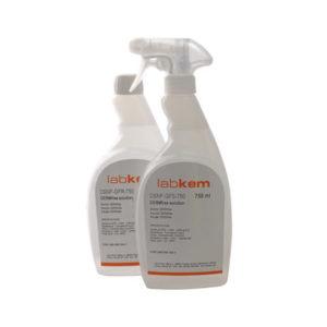 Detergentes y desinfectantes para laboratorio