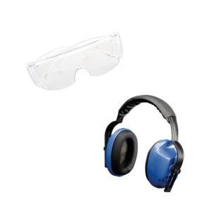 Protección visual y audio