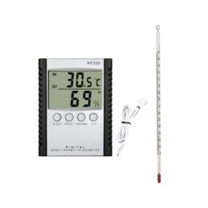 Temperatura y humedad