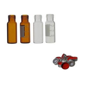 Viales para cromatografía y accesorios
